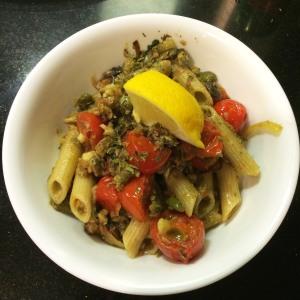 herring pasta